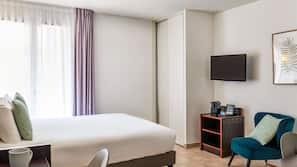 In-room safe, desk, soundproofing, free cots/infant beds