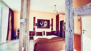 Allergikerbettwaren, Zimmersafe, individuell dekoriert