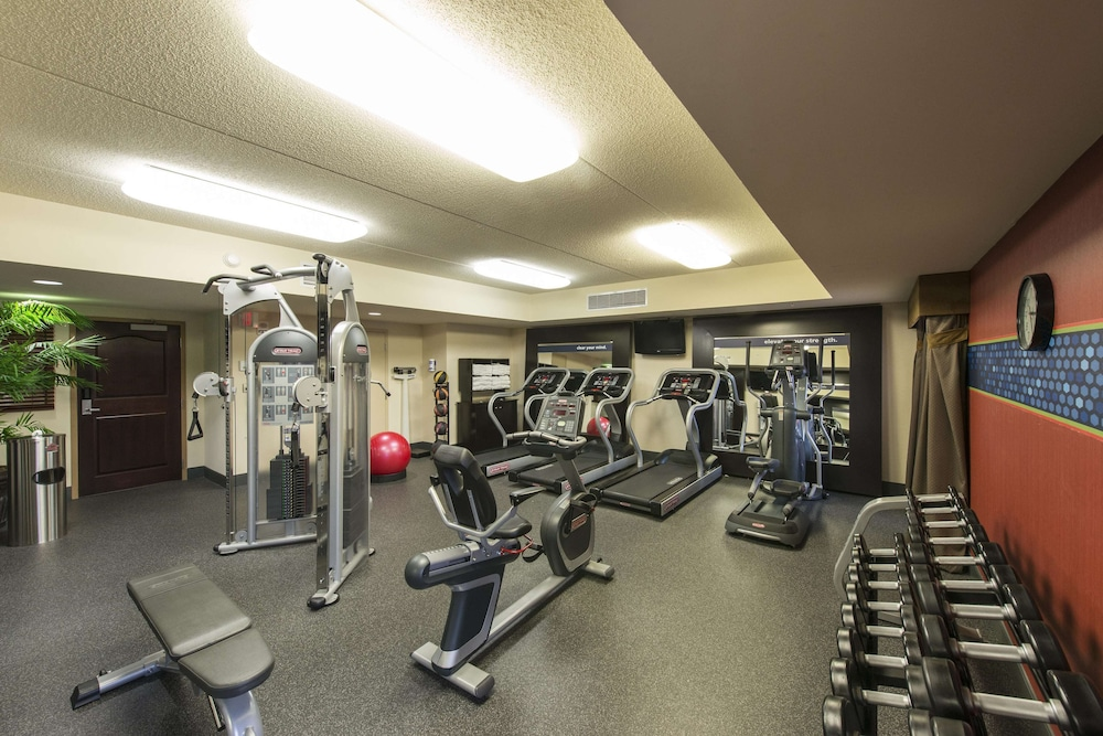 Fitness Facility, Hampton Inn & Suites Albany-Downtown