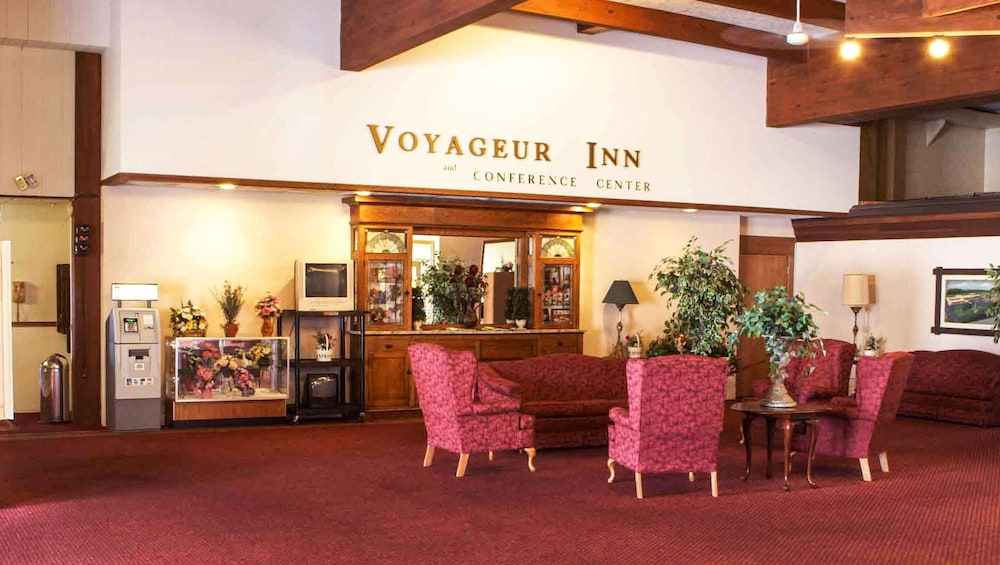 Lobby, Voyageur Inn and Conference Center
