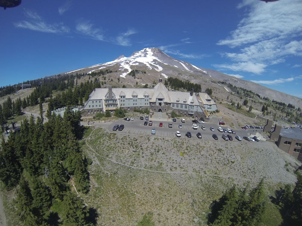 Aerial View, Timberline Lodge