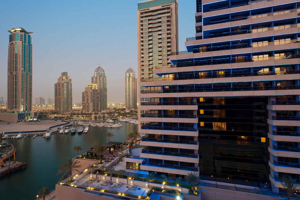 View from Room, Grosvenor House, a Luxury Collection Hotel, Dubai