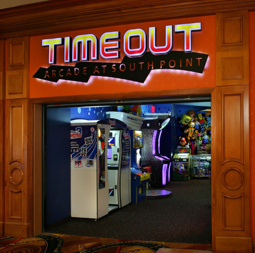 Arcade, South Point Hotel, Casino, and Spa