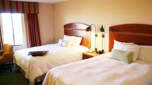In-room safe, iron/ironing board, free cribs/infant beds