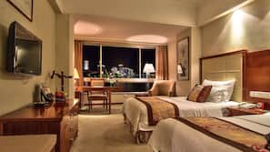 Premium bedding, Select Comfort beds, minibar, in-room safe