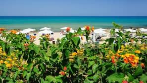 Spiaggia privata nelle vicinanze, sabbia bianca