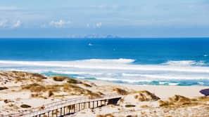 Am Strand, kostenloser Shuttle zum Strand, Strandtücher