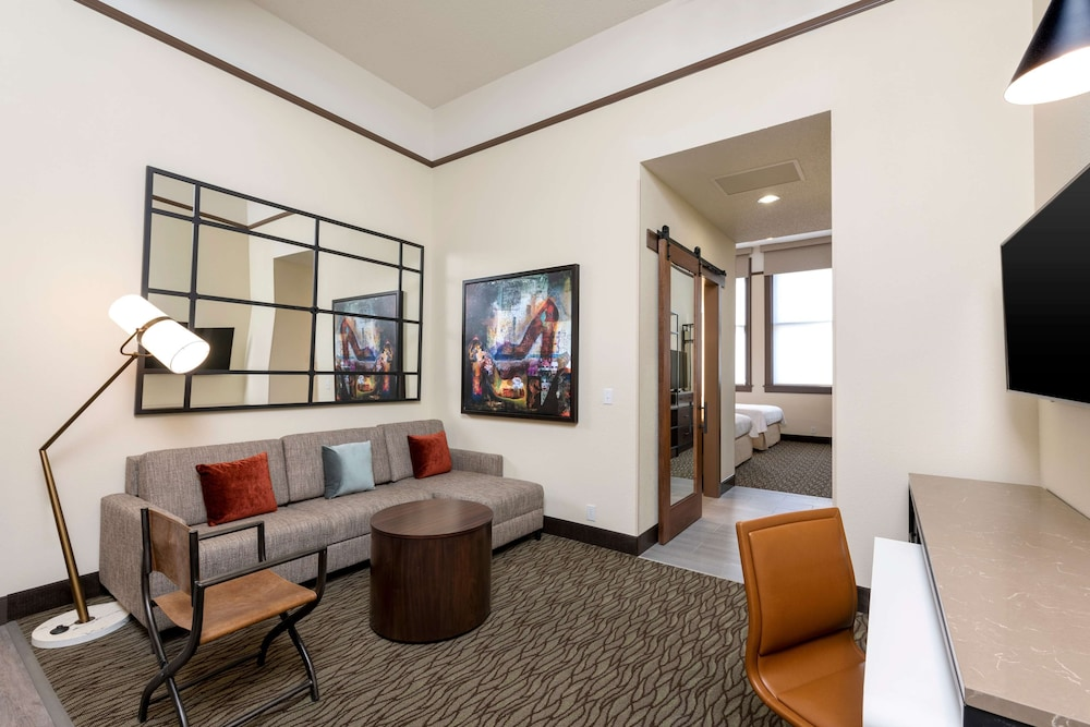 Living Area, Homewood Suites by Hilton Indianapolis-Downtown