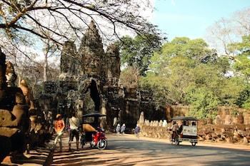 River Road, Siem Reap, Cambodia.