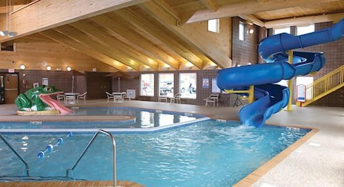 Indoor Pool, AmericInn by Wyndham Wetmore Munising