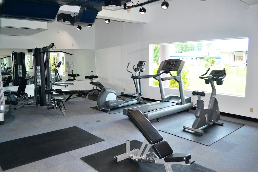 Gym, Kanoa Resort Saipan