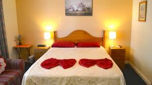 Premium bedding, Tempur-Pedic beds, individually decorated