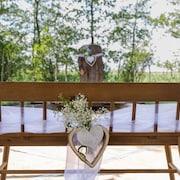Utendørs bryllupsområde