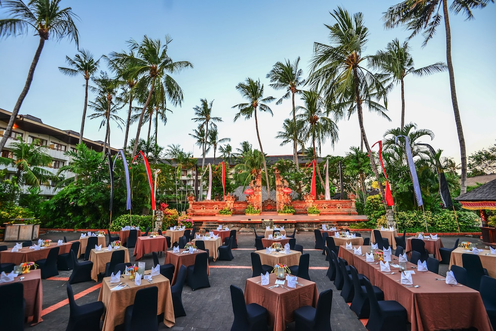 Outdoor Banquet Area, Prama Sanur Beach Bali