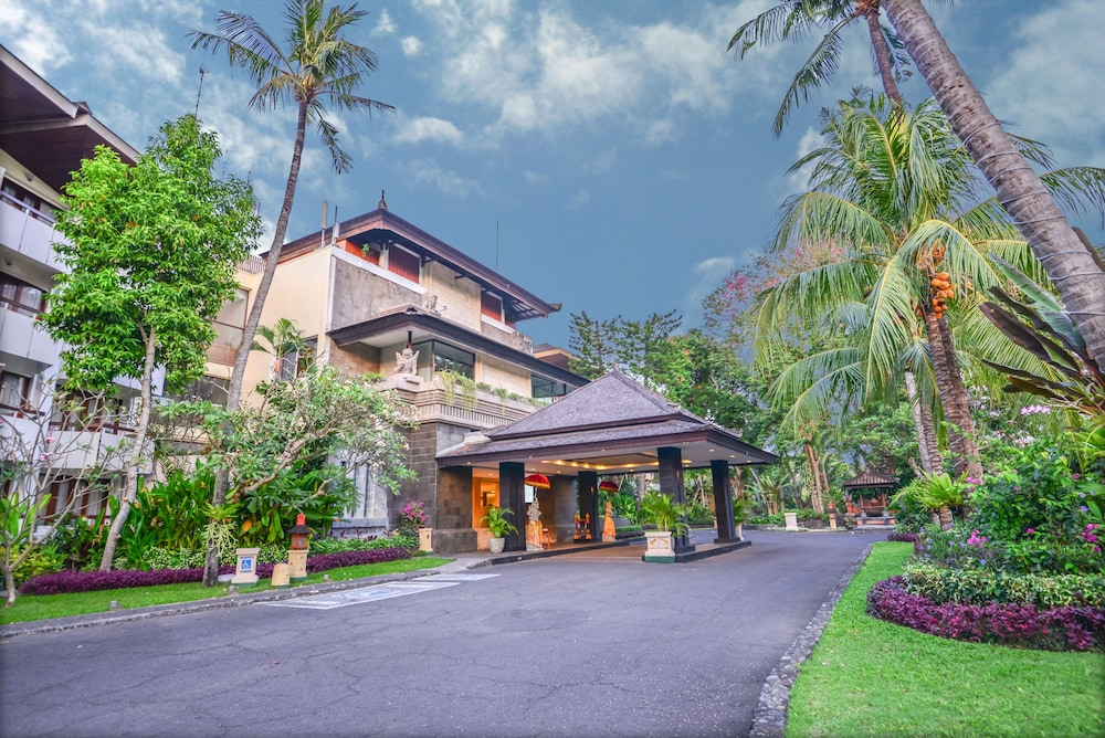 Property Entrance, Prama Sanur Beach Bali