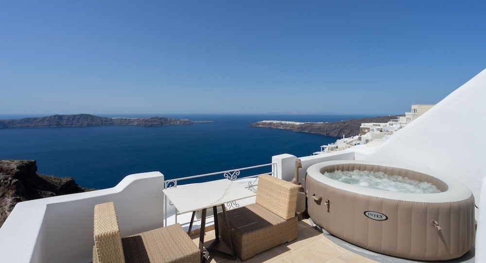 View from Room, La Maltese Estate, Buddha-Bar Beach Santorini