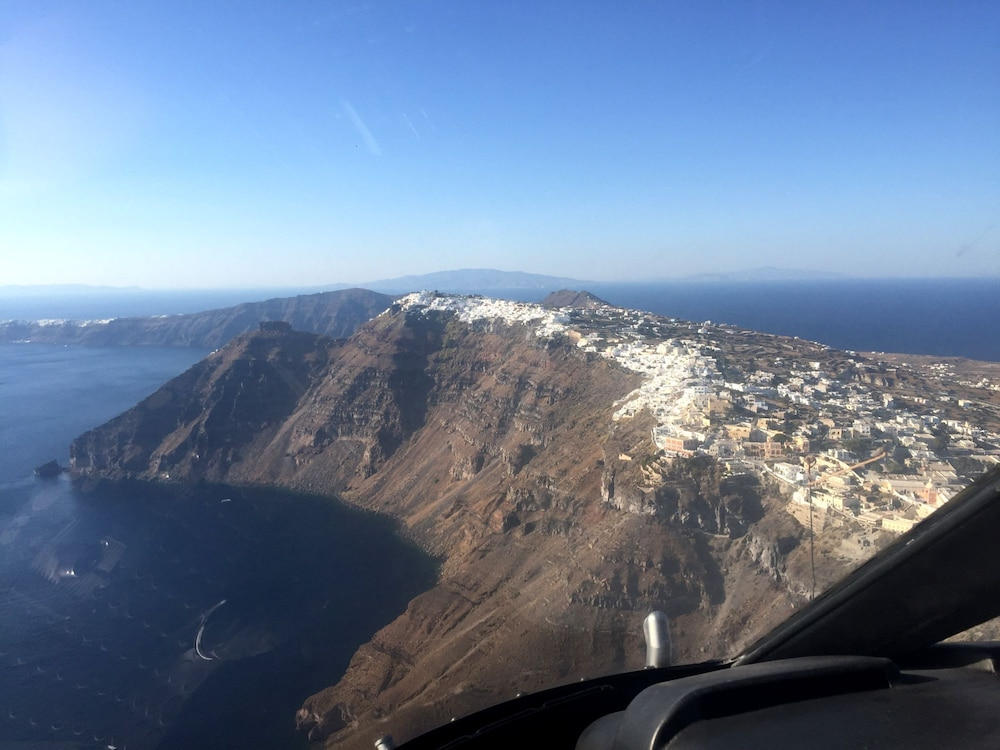 Helicopter/Plane Tours, La Maltese Estate, Buddha-Bar Beach Santorini