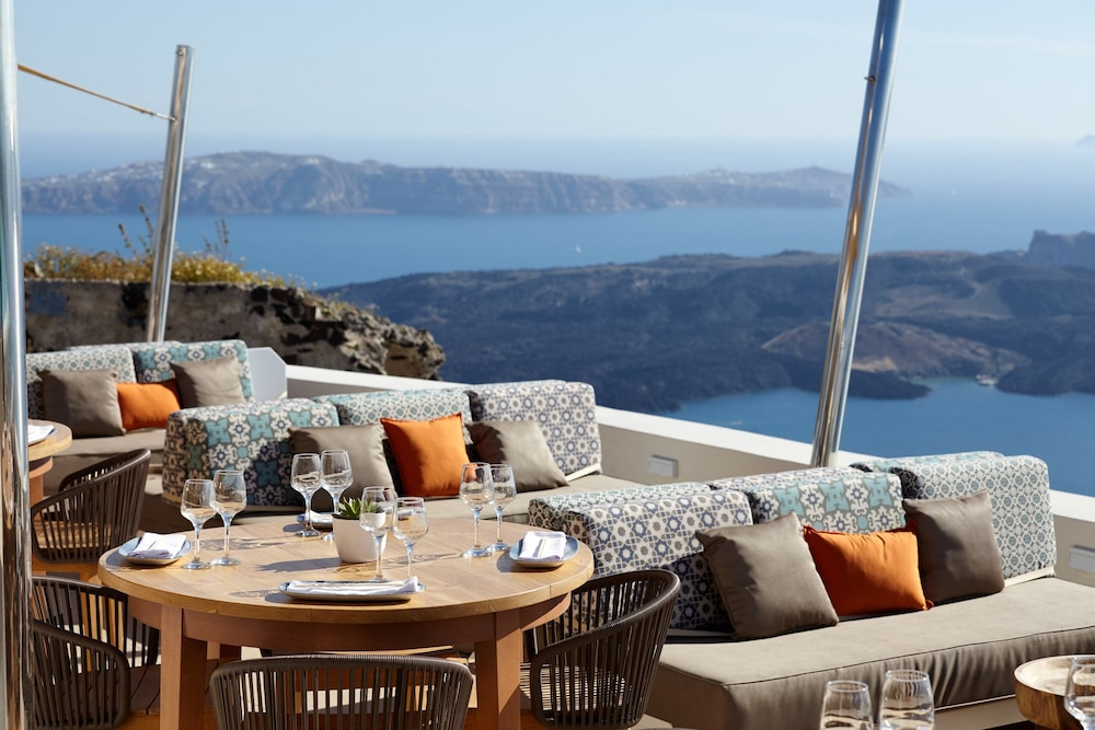 Outdoor Dining, La Maltese Estate, Buddha-Bar Beach Santorini