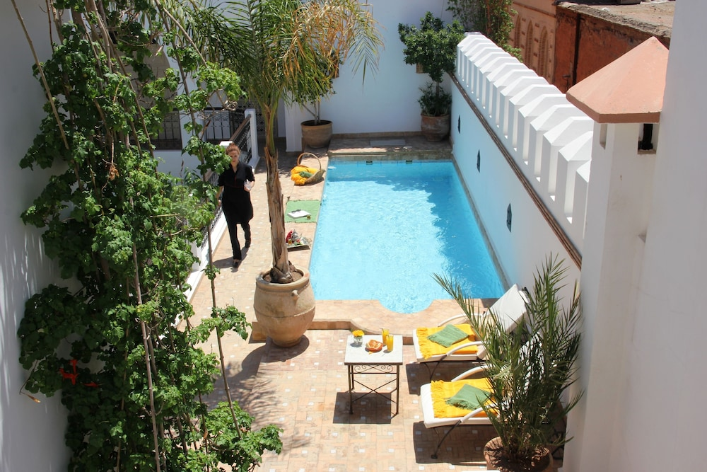 Outdoor Pool, Riad Clémentine