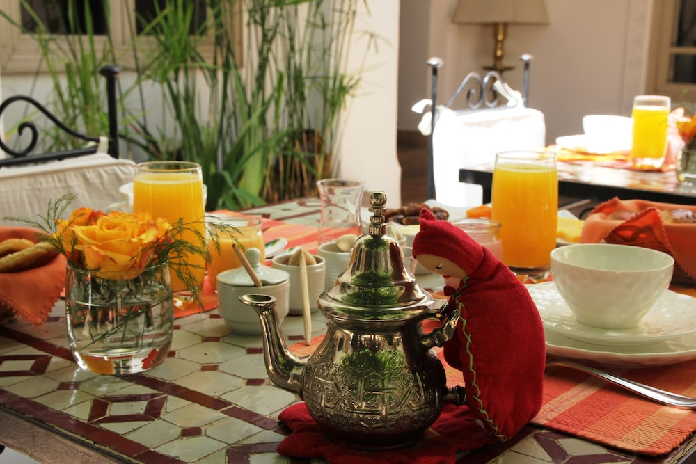 Breakfast Area, Riad Clémentine