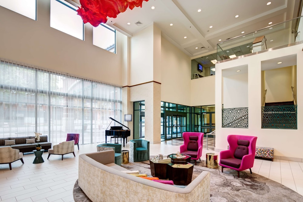 Lobby, Homewood Suites by Hilton Salt Lake City-Downtown