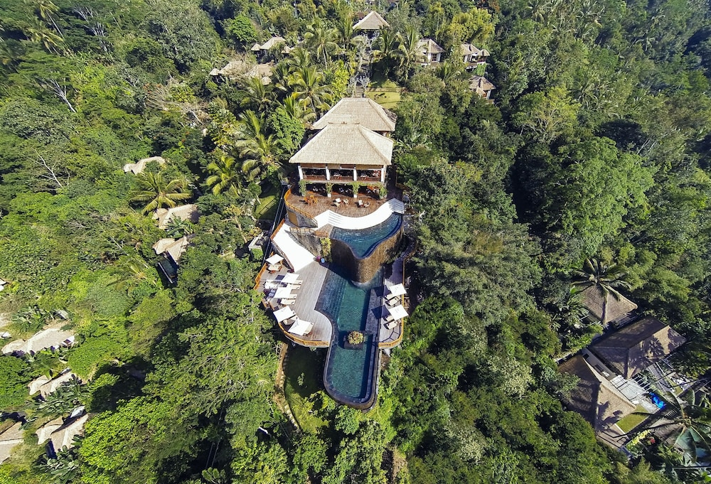 Aerial View, Hanging Gardens of Bali