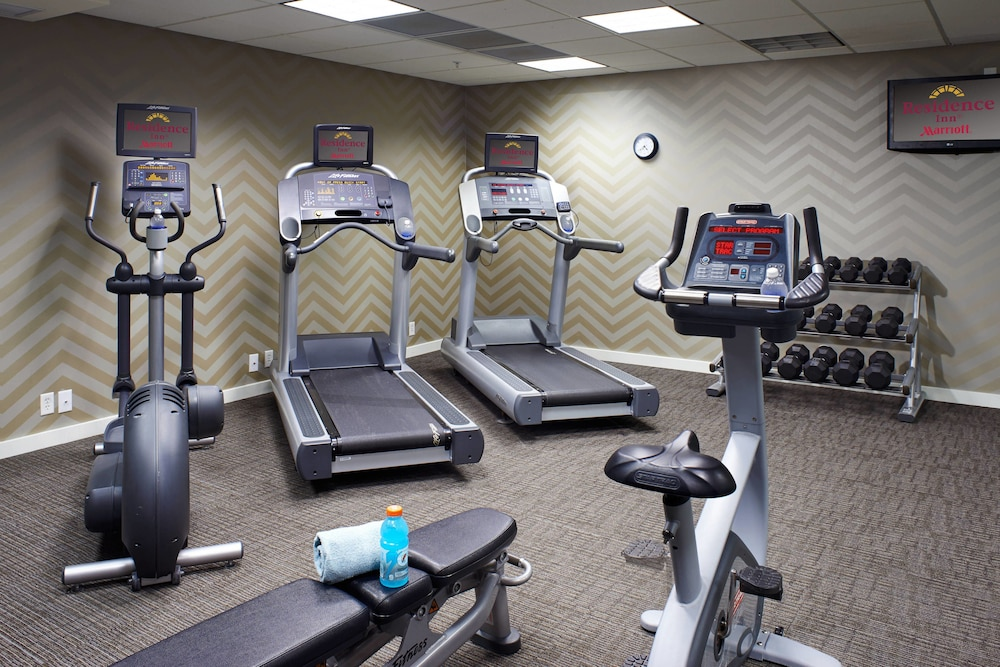Fitness Facility, Residence Inn by Marriott Saginaw
