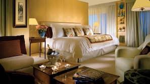 Bettwäsche aus ägyptischer Baumwolle, Daunenbettdecken, Minibar
