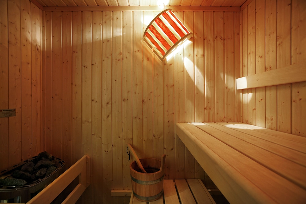 Sauna, Olympia Golden Beach & Spa