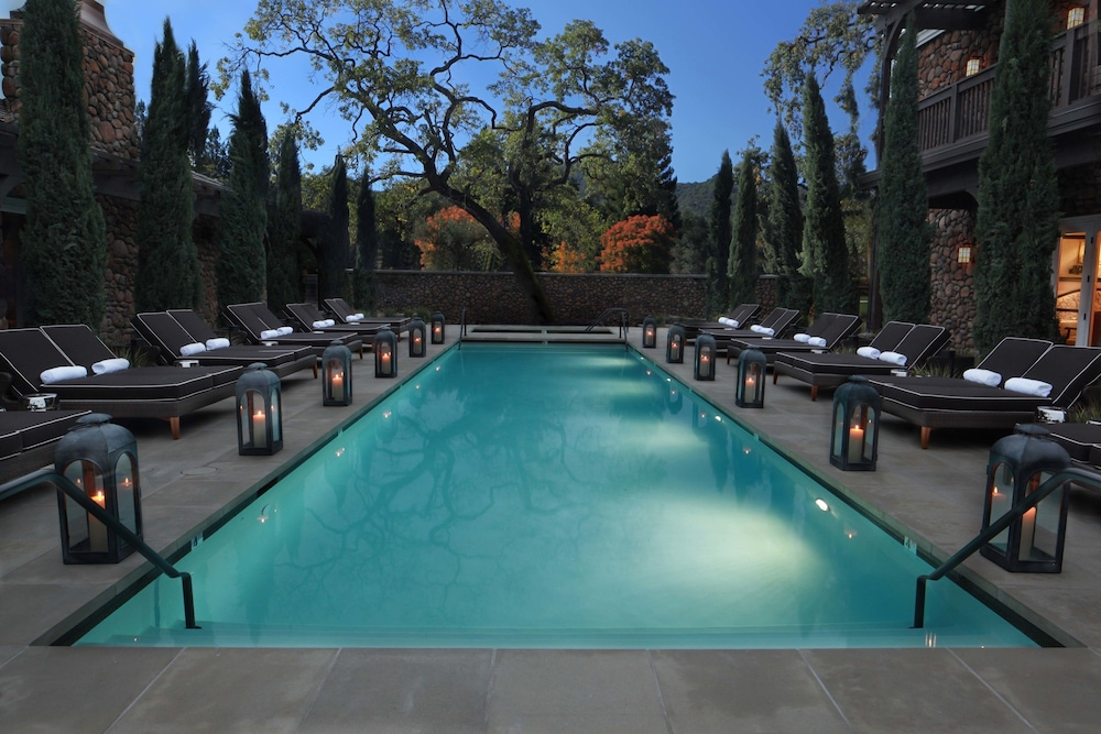 Outdoor Pool, Hotel Yountville