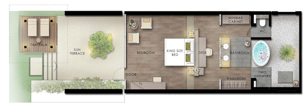 Floor plan, The Sarojin