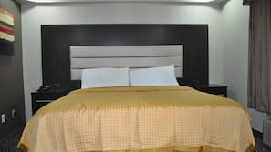 In-room safe, free cribs/infant beds, free wired internet, linens