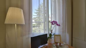 7 sovrum, italienska Frette-lakan och sängtillbehör av högsta kvalitet