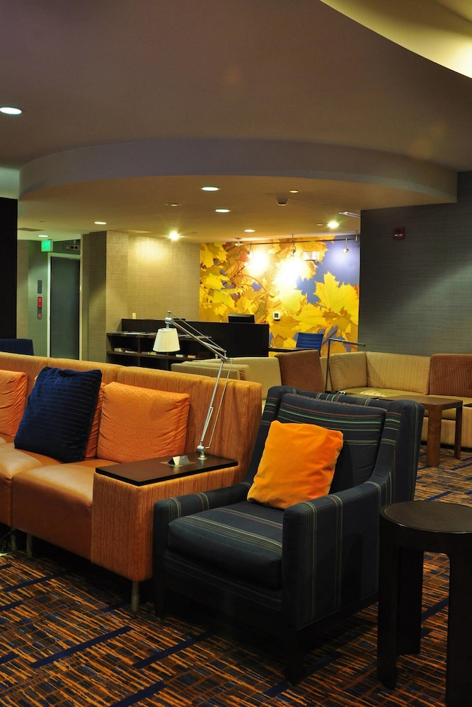 Lobby, Courtyard by Marriott Kingston