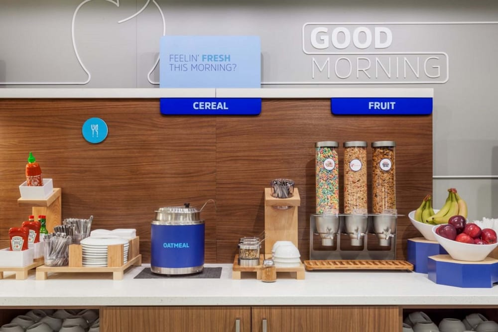Breakfast Meal, Holiday Inn Express Hotel & Suites Dallas-Grand Prairie I-20