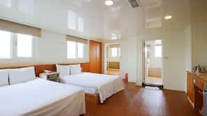 窗簾、隔音、免費 Wi-Fi、床單