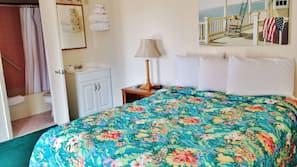 Pillowtop beds, blackout drapes, free WiFi, linens