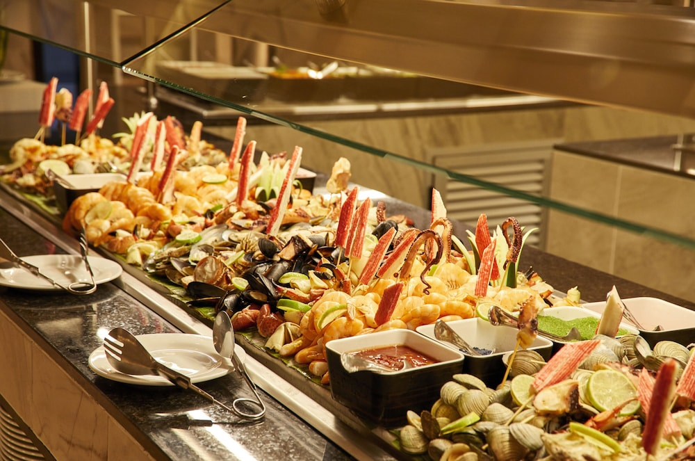 Buffet, Riu Palace Riviera Maya All Inclusive