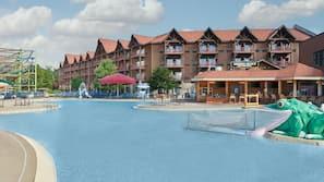 4 indoor pools, seasonal outdoor pool, cabanas (surcharge)