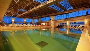 Indoor pool, a lap pool