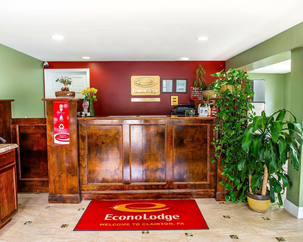 Lobby, Econo Lodge Jefferson Hills Hwy 51