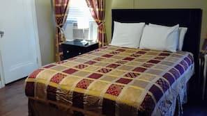 Camas com colchões pillow-top, ferros/tábuas de passar roupa