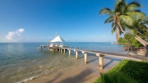 Am Strand, kostenloser Shuttle zum Strand, Cabañas (kostenlos)