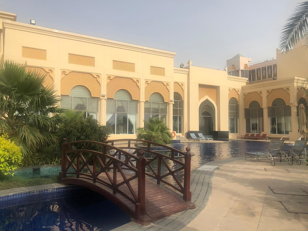 Outdoor Wedding Area, Al Areen Palace And Spa By Accor