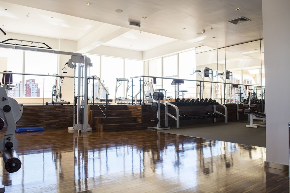 Fitness Facility, Crowne Plaza Asuncion