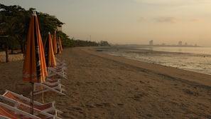 私家海滩、沙滩椅、沙滩毛巾