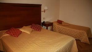 16 bedrooms, down duvets, minibar, in-room safe