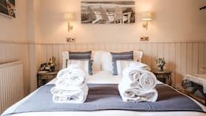 1 bedroom, premium bedding, individually decorated, iron/ironing board
