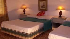 고급 침구, 오리/거위털 이불, 필로우탑 침대, 각각 다른 스타일의 객실