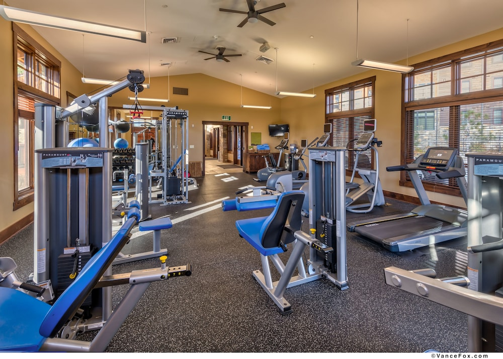 Fitness Facility, Tahoe Mountain Lodging